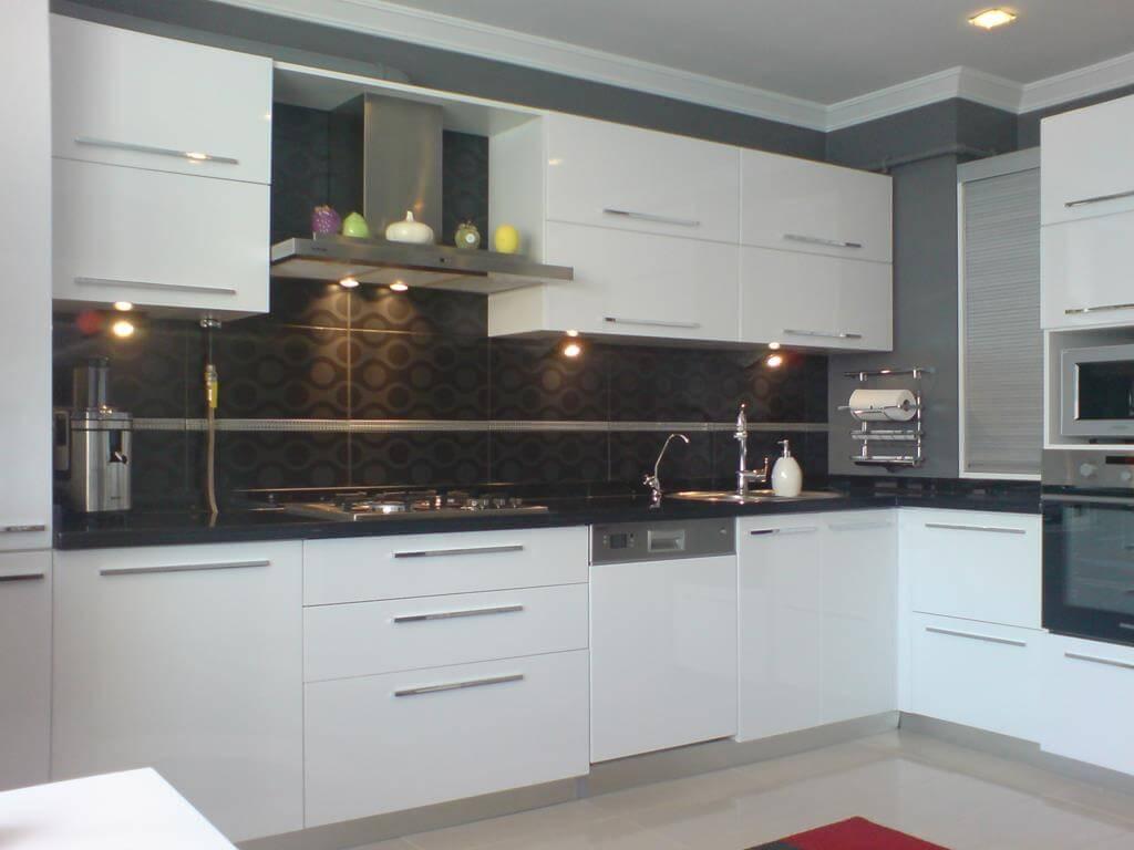 Modern beyaz mutfak dolab dizayni en son dekorasyon modelleri - Modern Beyaz Mutfak Dolab Dizayni En Son Dekorasyon Modelleri 0