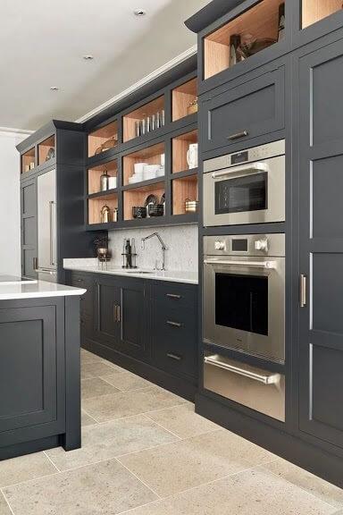 Modern beyaz mutfak dolab dizayni en son dekorasyon modelleri - Modern Beyaz Mutfak Dolab Dizayni En Son Dekorasyon Modelleri 26