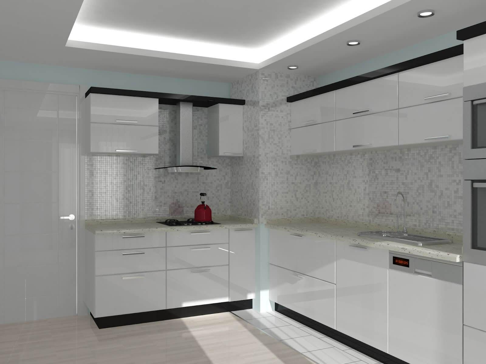 Modern beyaz mutfak dolab dizayni en son dekorasyon modelleri - Son Zamanlarda Lake Mutfak Dolaplar Modelleri En Ok Se Im Yap Lan Modeldir D Ekil Ve De Erlendirme Bak M Ndan Epeyce D Nsel Olan Lake Kapaklar Olan