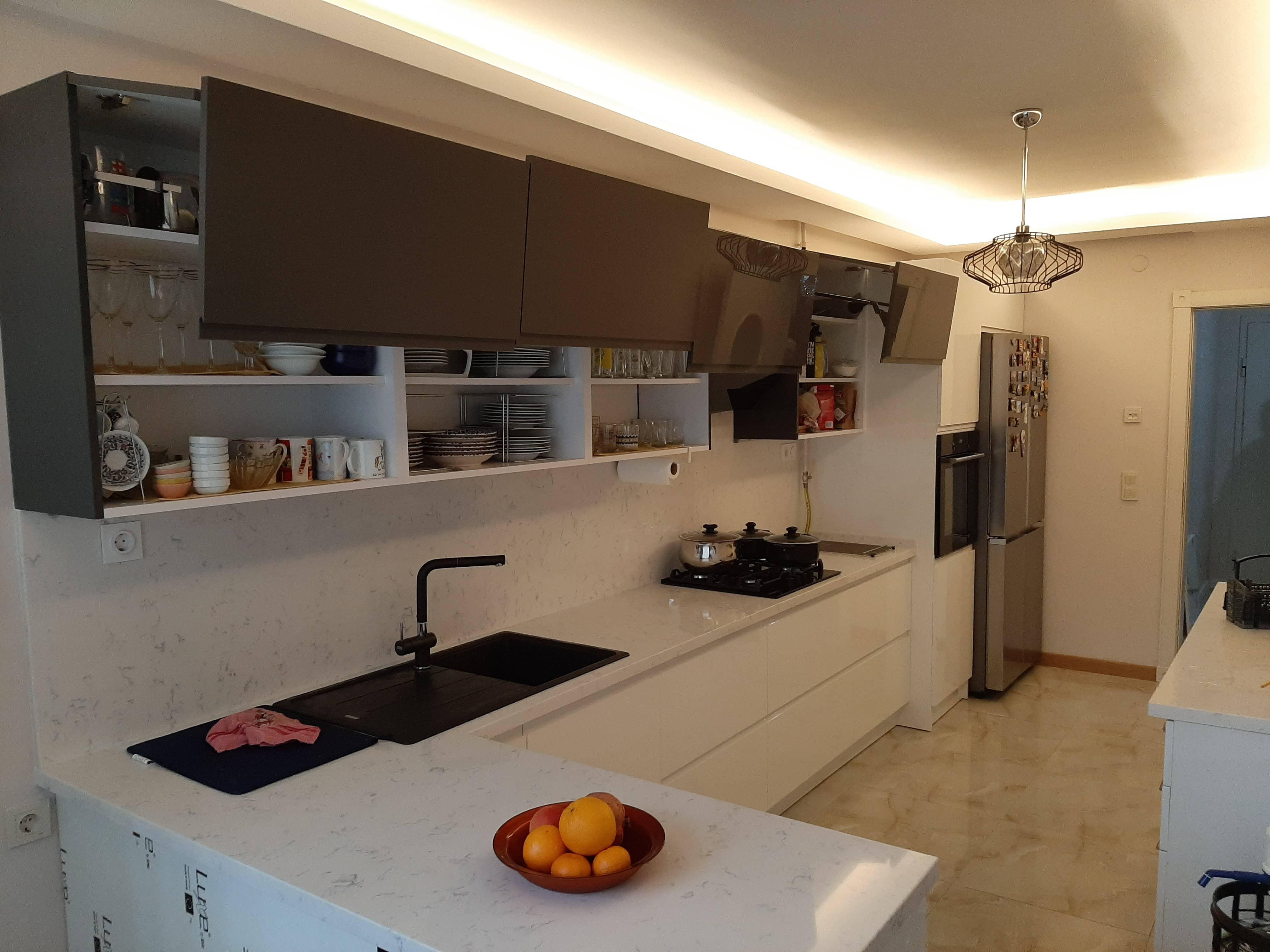 Mutfak Dekorasyonunda Dolaplar